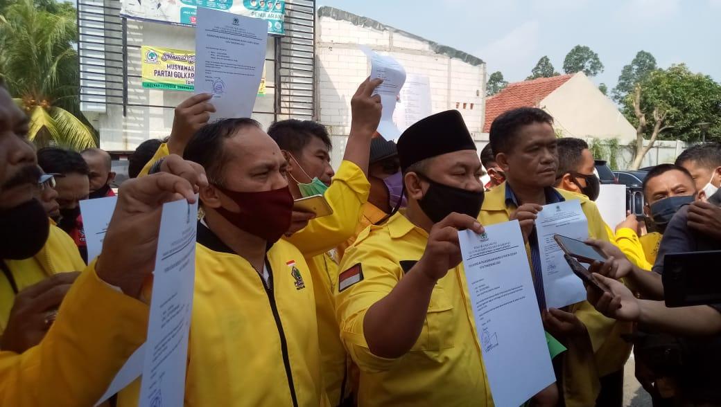 11 Pimpinan Kecamatan Gugat Musda Golkar Kota Tangerang ke Mahkamah Partai