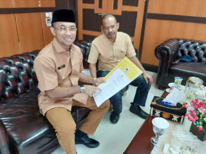 DPP Golkar Tugaskan Wakil Bupati Arrival Boy Menangkan Pilbup Sijunjung 2020