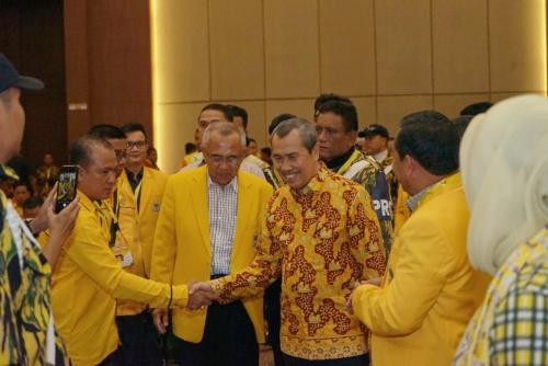 Didukung Andi Rachman, Syamsuar Terpilih Aklamasi Pimpin Golkar Riau