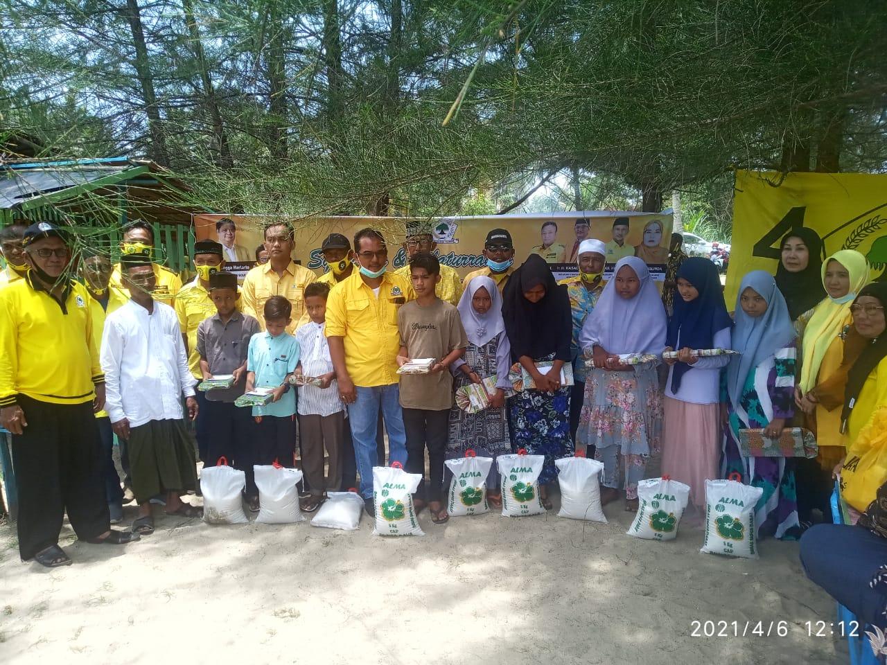 Golkar Aceh Timur Gelar Syukuran dan Silaturahmi Pengurus Baru di Desa Kuala Matang Rayeuk