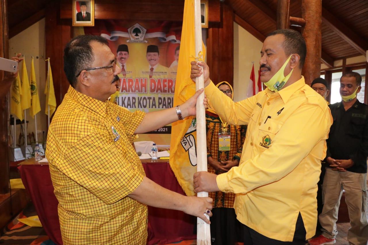 Wakil Walikota Mardison Mahyuddin Terpilih Keempat Kalinya Pimpin Golkar Pariaman
