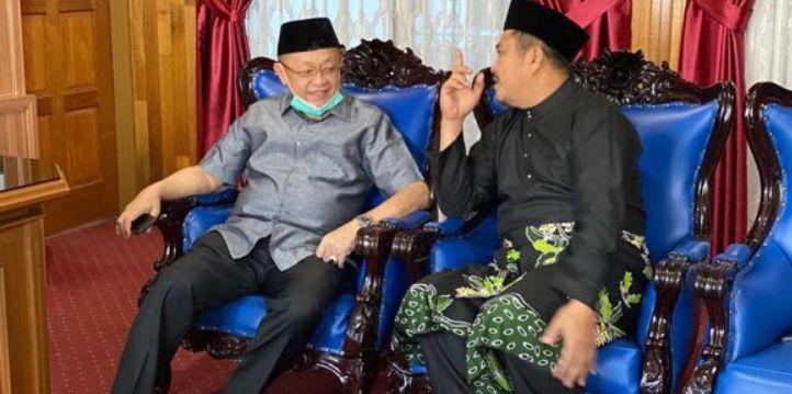 Cek Endra Sambangi Mashuri di Bungo, Bahas Pilgub Jambi?