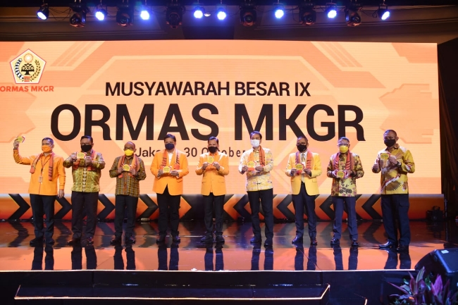 MKGR Bukan Ormas Kaleng-Kaleng, 5 Kadernya Jadi Pimpinan Komisi di DPR RI