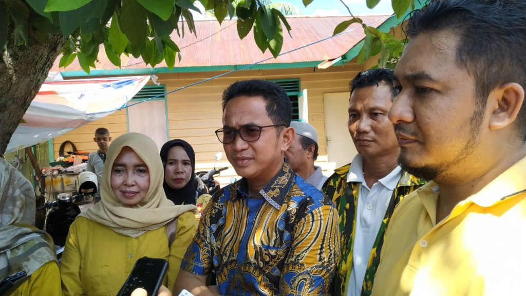 Fraksi Golkar Kota Balikpapan Santuni Keluarga Almarhum Om Kanda