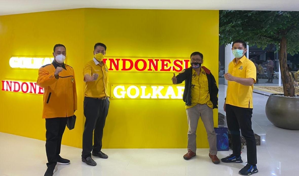 Pleno Angkat Henry Indraguna Jadi Plt Ketua Lembaga Komunikasi dan Informasi Partai Golkar