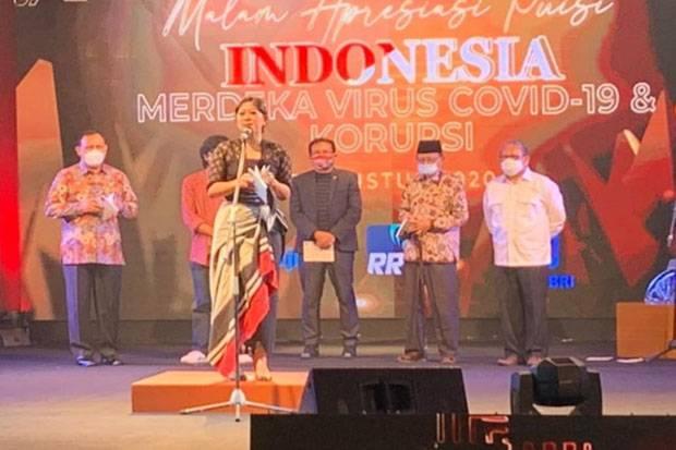 Meriahkan HUT RI Ke-75, Meutya Hafid Bacakan Puisi Indonesia Merdeka COVID-19 dan Korupsi