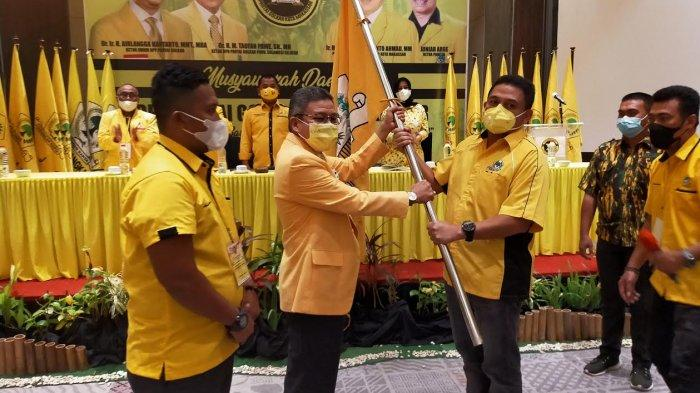 Munafri Arifuddin Bagikan 15 Ekor Sapi Kurban Untuk 15 PK Golkar se-Kota Makassar