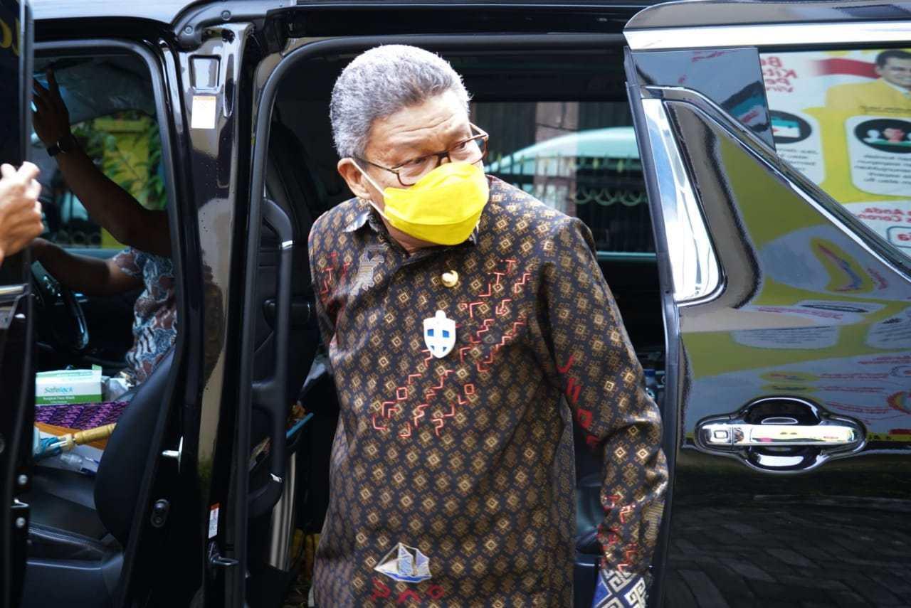 Taufan Pawe Minta Fraksi Golkar DPRD Sulsel Terus Perjuangkan Pembangunan Stadion Mattoanging