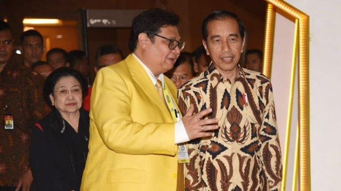 Ekonomi Tumbuh 7,07 Persen, SMRC Ungkap Kepercayaan Jokowi Kepada Airlangga Semakin Tebal