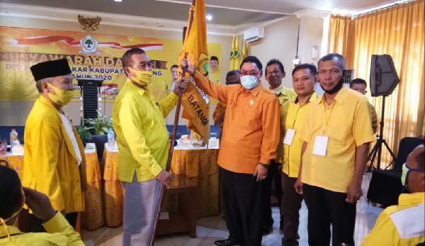 Terpilih Aklamasi Jadi Ketua Golkar Batang, Nur Untung Slamet Targetkan 10 Kursi DPRD
