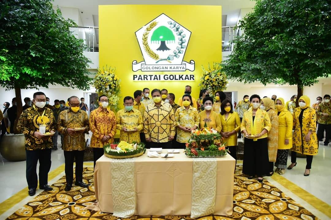 Airlangga Hartarto Resmikan Gedung Baru Kantor DPP Partai Golkar