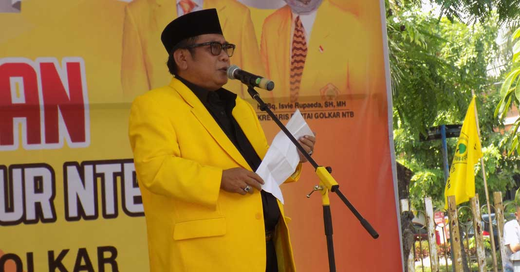 Suhaili FT Belum Mulus, Ahyar Abduh dan Sari Yuliati Masih Berpeluang Pimpin Golkar NTB