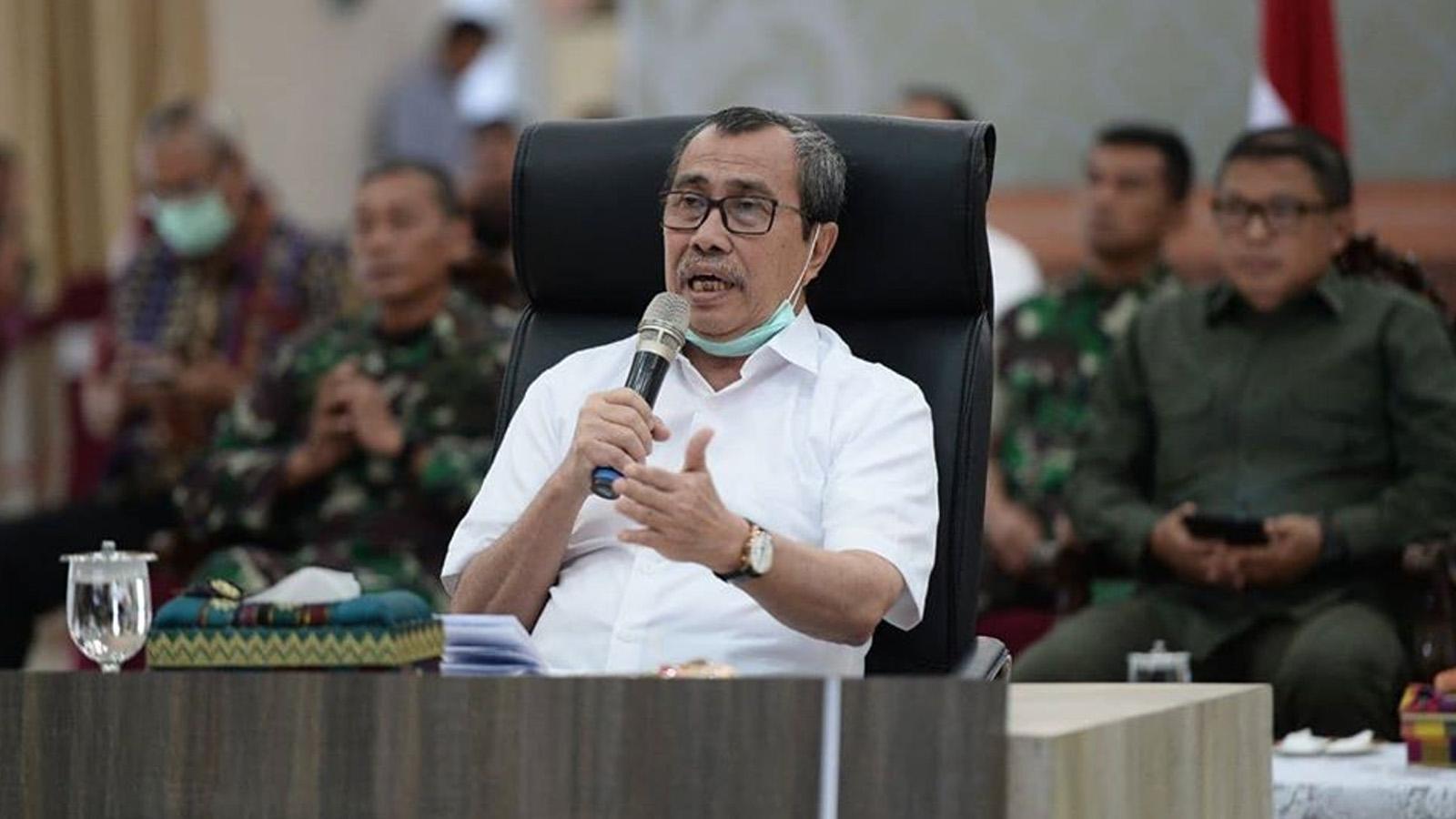 Tutup Bandara dan Terminal di Riau, Gubernur Syamsuar: Mudik dan Pulang Kampung Sama Saja