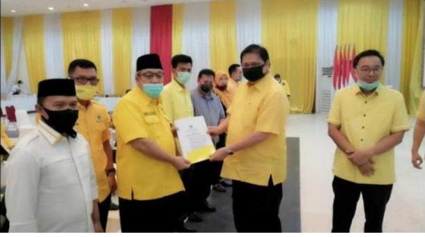 Pilkada 2020, Golkar Resmi Usung Tony Eka Candra di Lamsel dan Raden Adipati Surya di Way Kanan
