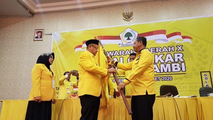 Musda Golkar Kota Jambi Dituding Ilegal, Ahmad Hanafiah Siap Kawal Hingga Ke Mahkamah Partai