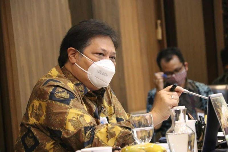 Rapimnas Golkar, Airlangga Paparkan Keberhasilan Pemerintah Hadapi Pandemi COVID-19