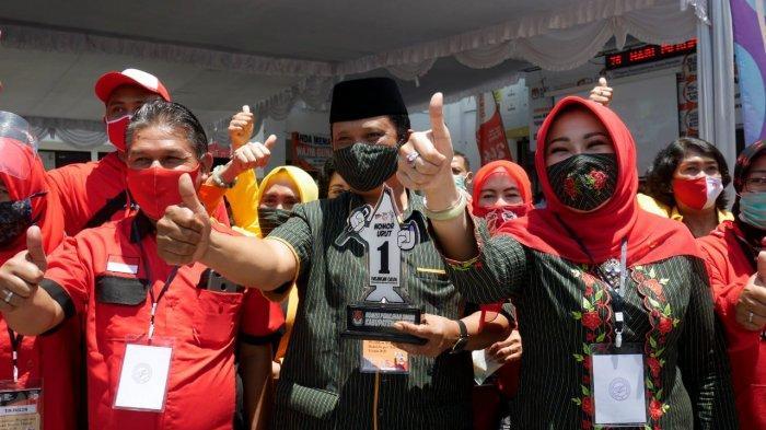 MULYO Dapat Nomor Urut 1 di Pilkada Klaten, Sri Mulyani Sebut Maknanya Satu Kali Lagi