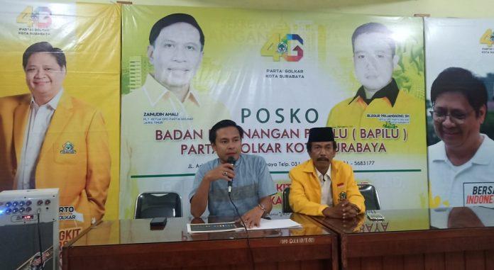 Selain Gus Hans, Arif Fathoni Ungkap Golkar Surabaya Ajukan Dua Nama Non Kader ke DPP