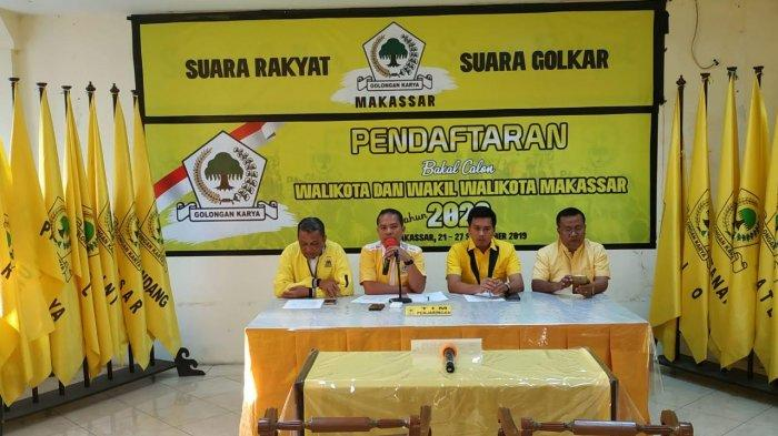 13 Balon Walikota Makassar Daftar di Golkar, 3 Kembalaikan Formulir