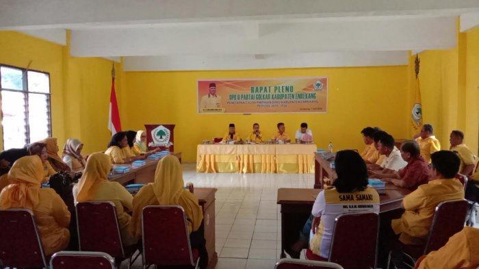 Pleno Golkar Enrekang Sepakati Idris Sadik Pimpinan Sementara DPRD