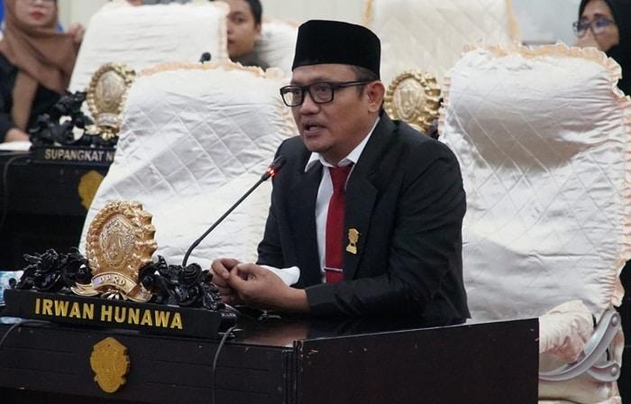 Sah! Irwan Hunawa Resmi Jabat Ketua Fraksi Golkar DPRD Kota Gorontalo