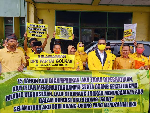 Penuh Sejarah, Kader Akar Rumput Desak Pengurus Pertahankan Gedung Golkar Kota Bekasi di Ahmad Yani