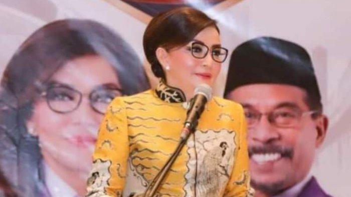 HUT Ke-53, Bupati Minsel Tetty Paruntu Dapat Kejutan Spesial Dari Anggota DPR, Adrian Paruntu