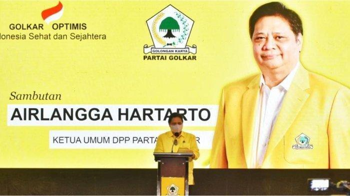 Airlangga Hartarto Ajak Kader Golkar Sumbar Ikut Aktif Dukung Program Pemerintahan Jokowi