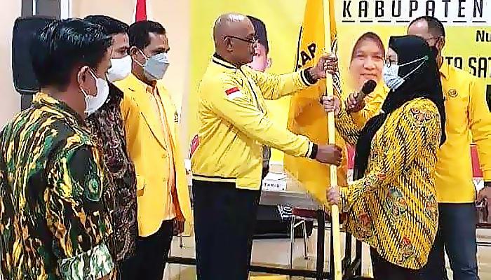 Siti Raudah Arsyad Terpilih Aklamasi Pimpin Golkar Nunukan 5 Tahun Ke Depan