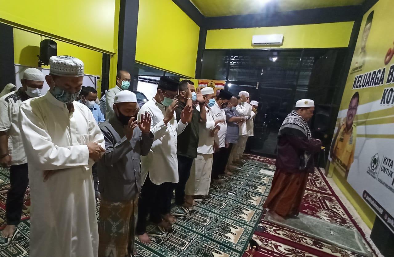 Gelar Sholat Hajat dan Doa Bersama, Golkar Kota Banjarmasin Harap Pilkada Berjalan Kondusif