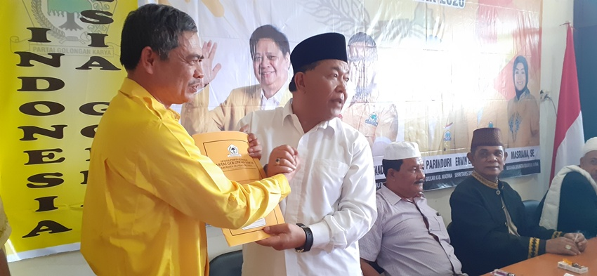 Dahlan Hasan Siap Duet Dengan Aswin Di Pilkada Madina 2020