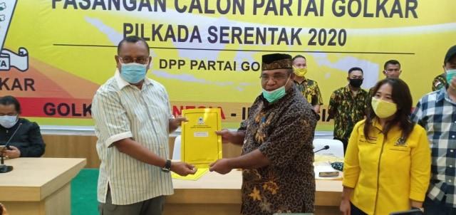 Kantongi Rekomendasi Golkar, Petrus Kasihiw-Matret Kokop Siap Bertarung di Pilkada Teluk Bintuni