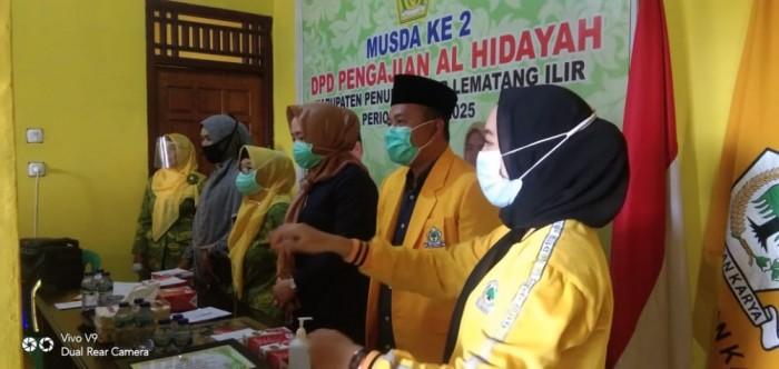 Herawati Rizal Terpilih Aklamasi Jadi Ketua Pengajian Al-Hidayah Kabupaten Pali