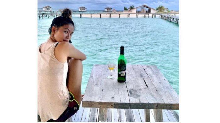 Heboh! Legislator DPRD Sulut Cindy Wurangian Pesta di Pantai Tanpa Protokol Kesehatan
