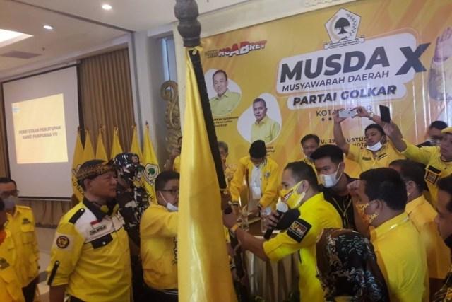 Terpilih Jadi Ketua, Rusli Prihatevy Bakal Jadikan Golkar Kota Bogor Partai Yang Dicintai Masyarakat