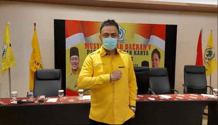 Farabi Arafiq Kembali Terpilih Pimpin Golkar Depok 2020-2025
