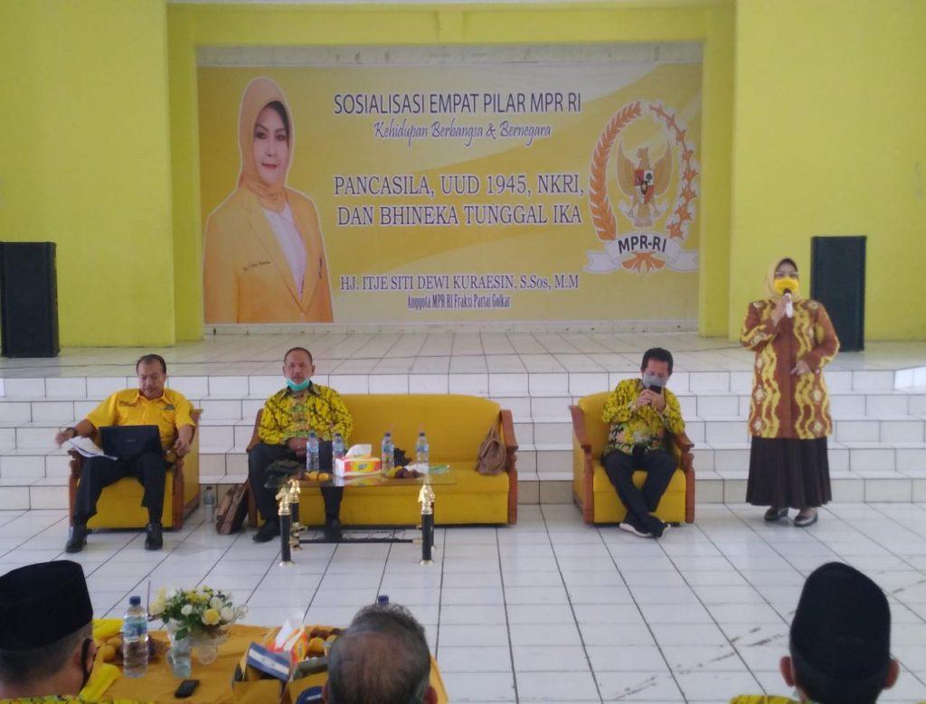 Itje Siti Dewi Kuraesin Ingatkan Teknologi Informasi Jangan Sampai Gerus Nilai-Nilai Pancasila