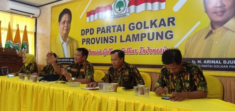 AMPG Minta Arinal Djunaidi Lanjutkan Kepemimpinan di Golkar Lampung
