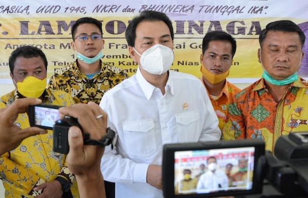 Azis Syamsuddin Desak Kemensos Salurkan Bansos Tunai Tepat Sasaran dan Tanpa Potongan