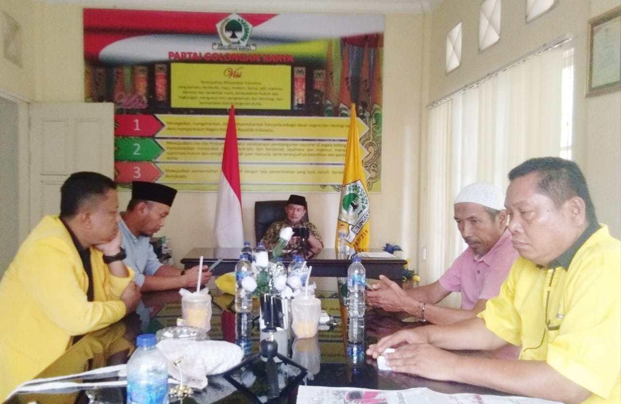 Manuver Ciptakan Poros Baru, Golkar Pesisir Selatan Tunggu Hasil Survei DPP