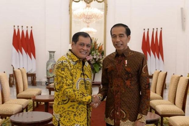 Bertemu Jokowi, Nurdin Halid Minta Provinsi Sulsel Lebih Diperhatikan