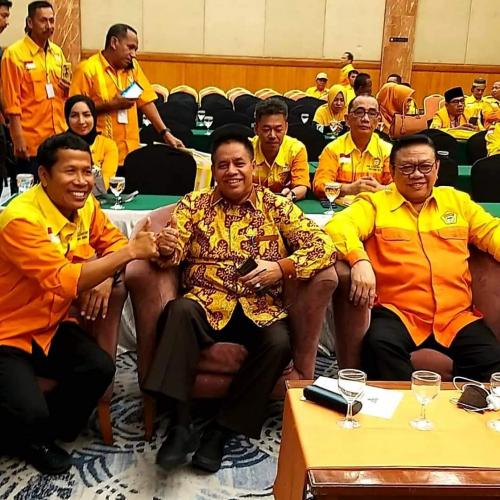 Pilkada Bengkalis, Adu Kuat Indra Gunawan Eet dan Ahmad Syah Harrofie di Golkar