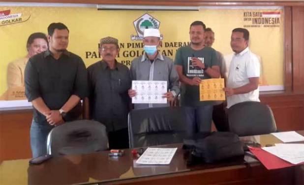 Idul Adha Pertama Di Bawah Syamsuar, Golkar Riau Sembelih Lima Hewan Kurban