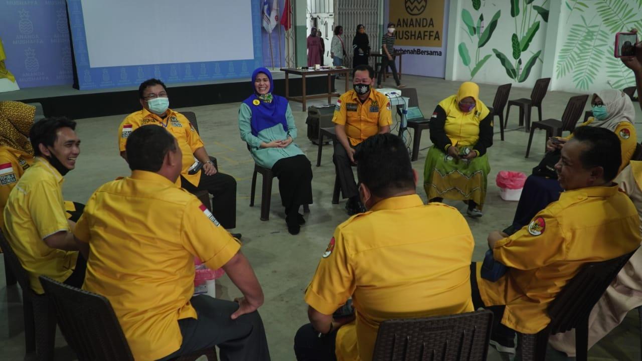 Yuni Abdi Nur Sulaiman Pastikan Kader Golkar Banjarmasin All Out Menangkan Ananda-Mushaffa