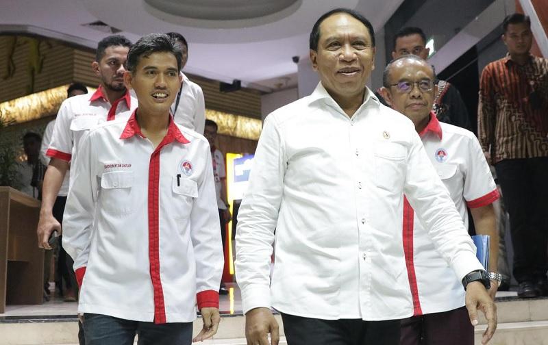 Menpora Zainudin Amali Harap Shin Tae Yong Mampu Bangkitkan Prestasi Timnas Indonesia