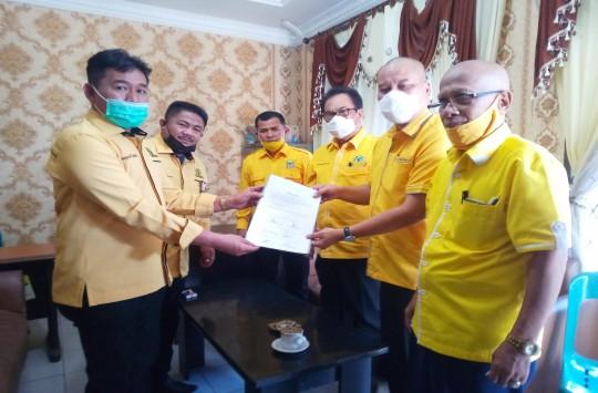 Rapat Pleno Diperluas Golkar Tetapkan Mangatas Silalahi Calon Wakil Walikota Siantar