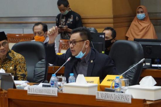 Ace Hasan Minta Pesantren di Zona Merah Tidak Belajar Tatap Muka
