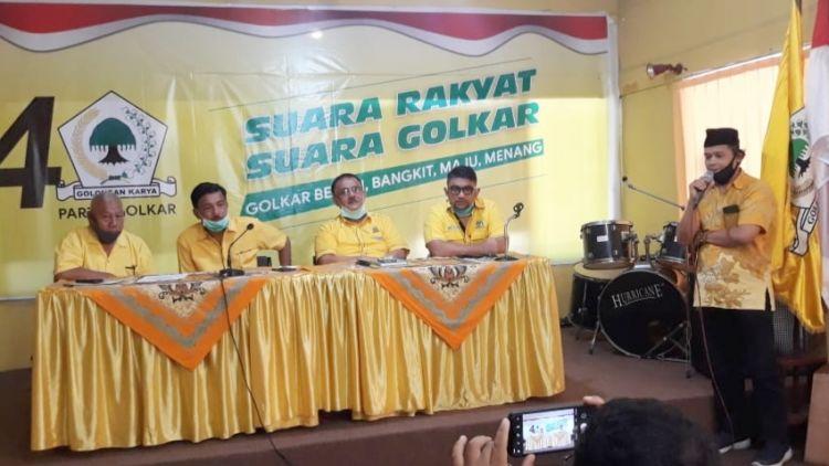 DPP Golkar Tetapkan Yutris Can, Benny Utama dan Zuldafri Darma Maju di Pilkada se-Sumbar 2020