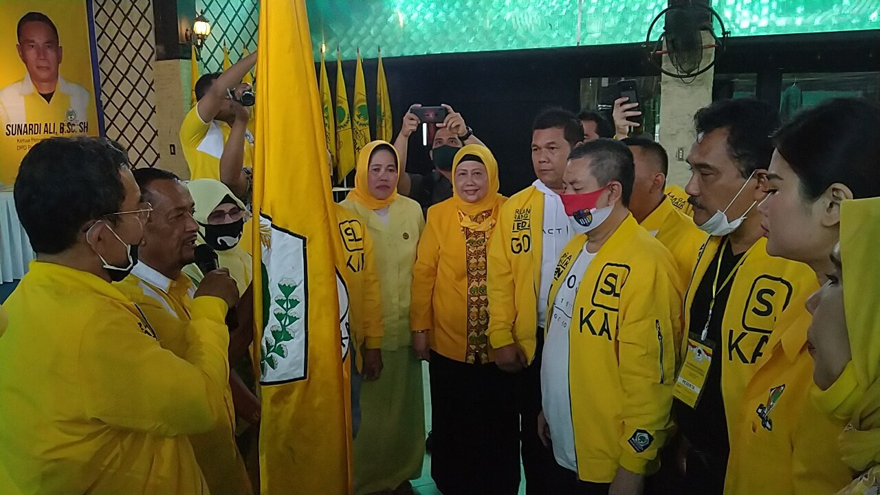 Terpilih Ketiga Kalinya Pimpin Golkar Kota Medan, Syaf Lubis Siap Menangkan Bobby Nasution