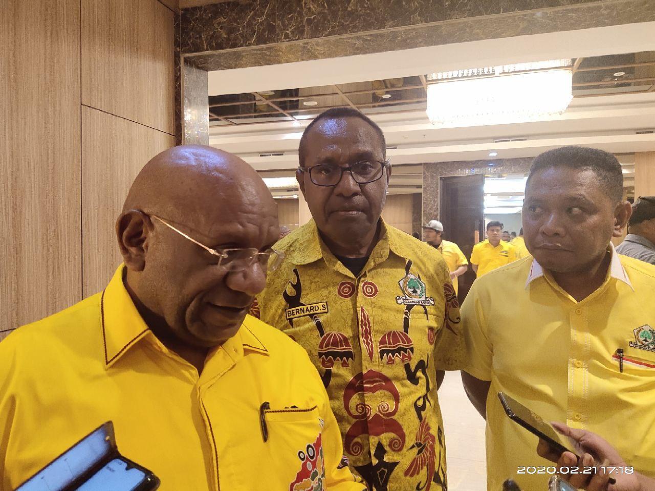 Ada Balon Kada Tak Dimasukan Golkar Wondama, Klemen Tinal Tegaskan Ada Diskresi DPP